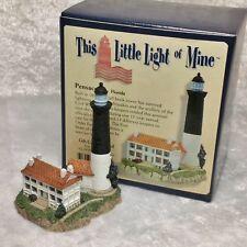 Harbour Lights Miniature Lighthouse MIB.  Pensacola - Florida