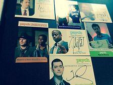 Psych Season 5-8 Dule Hill Autographed Trading Card plus bonuses Omundson