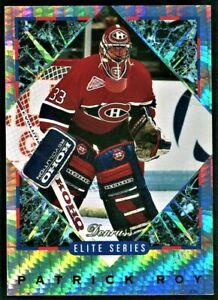 1993-94 Donruss PATRICK ROY Elite Insert *#'d/10000* Montreal Canadiens HOF