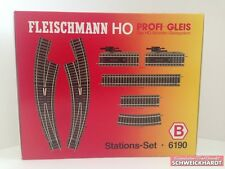 Fleischmann 6190 H0 - Profi- Gleis Stations- Set  B  NEU/OVP