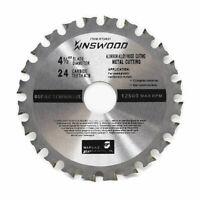 """4-1/2"""" 4.5"""" 24T Circular Saw Blade Finish blade for DeWalt, Makita, SKIL, bosch"""