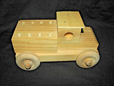 Unfinished Wood Pencil Holder Truck with 12 pack Dixon Oriole No. 2 Wood Pencils