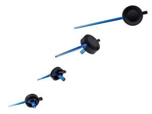 LETRONIX Blaue Tachonadeln 4 Stück 2x31mm 2x61mm VW Golf 5 Golf 6 Golf 7 Jetta 2