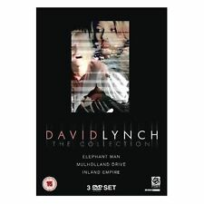David Lynch Classic - Movie Collection 3 Discs Box Set Brand New UK Region 2 DVD