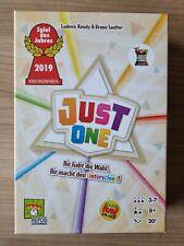 Just One - Spiel des Jahres 2019 - Repos Production - L. Roudy/B. Sautter
