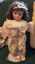 Me and My Blankie Porcelain Doll original by Jan Goodyear for Edwin M. Knowles
