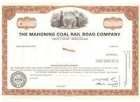 Specimen: Mahoning Coal Railroad Company