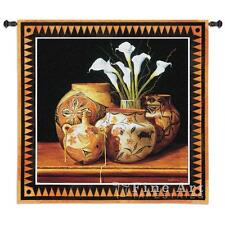 44x44 CALLA AND CANTEEN Southwest Tapestry Wall Hanging