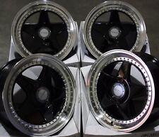 """17"""" Nero dare DR-F5 Cerchi in lega Si Adatta BMW MINI R50 R52 R55 R56 R57 R58 R59"""