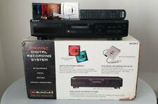 Sony Mds-Je330 Recording Deck & Sony Mz-E33 Md Player /w Remote