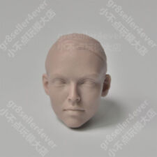 Free Shipping 1/6 scale Blank Head Sculpt Tracey female girls unpainted for 12""