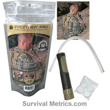 Frontier Survival Water Filter Pro - MILITARY EDITION