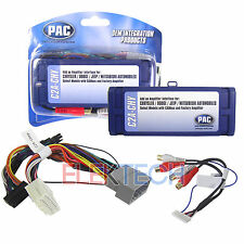 PAC C2A-CHY Amplifier Integration Interface Adapter For Chrysler Dodge Jeep NEW