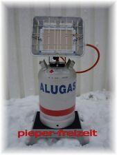 EUROPA Heizstrahlereinheit 4,6 kW inkl.Schlauch, Regler, ALU-Gasflasche11kg leer