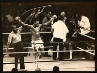 Larry Holmes Signed  Boxing 12x16 Photograph : B