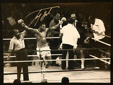 More details for larry holmes signed  boxing 12x16 photograph : b