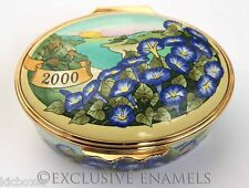 Halcyon Days Enamels The Year To Remember 2000 Enamel Box