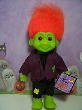 "HALLOWEEN FRANKENSTEIN TRAVIS - 7"" Russ Troll Doll - NEW IN ORIGINAL WRAPPER"