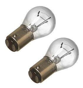 For BMW E10 E12 E24 E28 E30 E31 E32 E34 E36 E38 Set of 2 Tail/Brake Light Bulbs