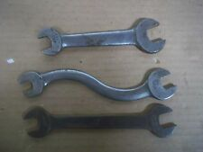 3 VINTAGE BILLINGS WRENCH TOOL MECHANIC SHOP FORD CHEVY DODGE TRUCK