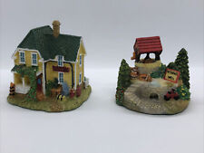 Vtg Liberty Falls Collection Figurine Village Rudder Antiques, Wishing Well 1996