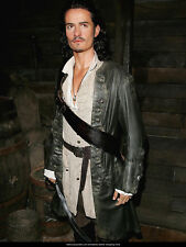 Pirates of the Caribbean 5 Will Turner Halloween Leather Coat