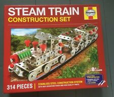 Haynes Steam Train Building Construction Set, Kit, Lego, Meccano BNIB 314 Pieces