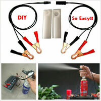 Manual Fuel Injector Flush Cleaner Adapter Set Kit Wash Tool for all Car Vehicle
