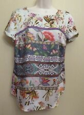 Marks & Spencer Collection UK8 EU36 US4 new pink-mix floral short-sleeved top