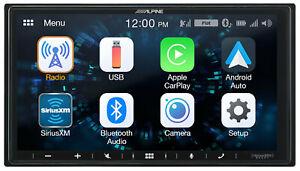 Alpine iLX-W650 Media Receiver w/ Apple CarPlay & Android Auto w/ Park Brake BP