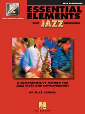 """Essential Elements For Jazz Ensemble""-Alto Sax Music Book W/Online Access New!"