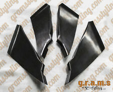 Nissan 350z Front Bumper Canards 4pcs fits most Bumpers for Performance V6