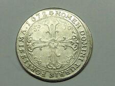 F386     FRANKFURT 2/3 Taler / Gulden 1672