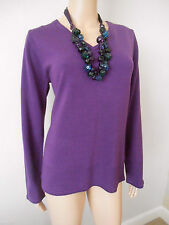Per Una Women's V Neck Long Sleeve Medium Knit Jumpers & Cardigans