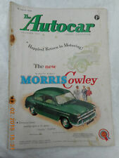 July The Autocar Cars, Pre-1960 Transportation Magazines