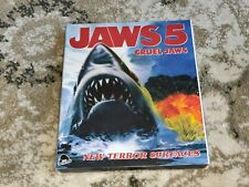 New listing Cruel Jaws Blu-ray With Rare, No Longer Available Jaws 5 Slipcover - New Severin