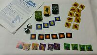 GI Joe Mission: Cobra H.Q. Board Game Replacement Parts Pawns Cards Dice 2002