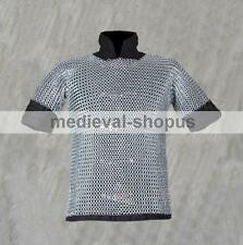 Butted Shirt Chain Mail Haubergeon Medieval Armor Hauberk Armour New Chainmaile