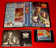 DISNEY TOY STORY Sega Mega Drive MegaDrive Versione Europea PAL ○ COMPLETO - FC