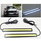 2pcs 17cm 12V White LED COB Car Auto DRL Driving Daytime Running Lamp Fog Light
