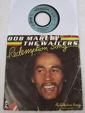 """Bob Marley  - Redemption Song - 2 versions -  French Picture Sleeve 45 rpm PS 7"""""""