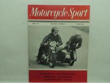 April 1975 Motorcycle Sport Magazine Kawasaki 400 Maxton Big Twin Weslake B272
