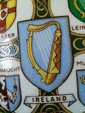 "Rare vintage Arklow Pottery Ireland ""Historic Families Dublin"" teapot, 1950's"