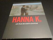 """BLU-RAY DIG NF """"HANNA K."""" Jill CLAYBURGH Jean YANNE Gabriel BYRNE / COSTA GAVRAS"""