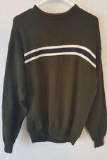 Croft & Barrow Men's Sweater size LT Green Cotton Mens Pullover Vintage EUC Tall