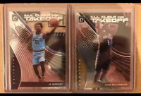 Lot (2) 2019-20 Optic Zion Williamson & Ja Morant All Clear For Takeoff Insert