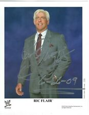 Ric Flair Signed Original WWE Promo 8x10 Photo #2