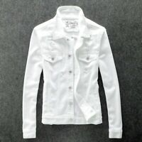 Men's Lapel Slim fit Buttons Casual Jackets Coats Leisure Korean Buttons Ripped