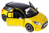 CITROEN DS3 1:32 Toy Car DS 3 Metal Model Die Cast Models Diecast Miniature
