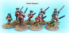 French & Indian War - British Rangers Skirmishing x 6